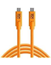 Tether Tools TetherPro USB-C to USB-C - Bağlantı Kablosu 10' (3m) DSLR Kamera ve Laptop, Turuncu