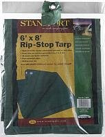 Stansport Ripstop Tarp (Stansport PDQ Pack Rip Stop Tarp, Green, 6' x 8')