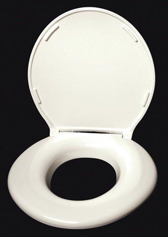 Big John Toilet Seat.Big John Closed Front Round Toilet Seat Finish Cream