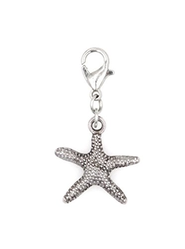It's All About...You! Starfish Stainless Steel Clasp Clip on Charm 74H