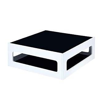 Table Carrée 90x90cm Basse Heaven Blanc Laquée Générique 4R3jqA5L