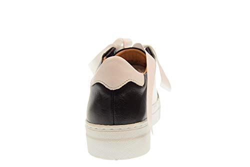Plataforma 30402 Studio Negro Mood De Con Zapatos Blanco Mujer WnSxXZSTOg