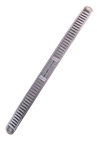 High Speed Gear Laser Duty Grip Padded Belt (Wolf Grey, MD (37''))