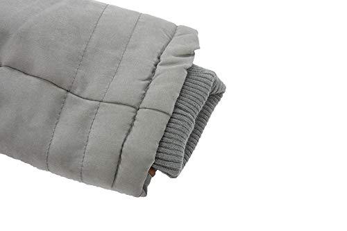 ... Marikoo Damen Warme Winter Mantel B610 Winterjacke Teddyfell Parka Grau  Jacke ArAFRZnq ... 4f8e0268a9