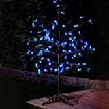 Anywhere LED with Leaves Tree Flower Color: Blue