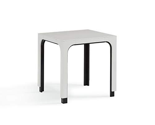 Now House by Jonathan Adler Otto Side Table, White