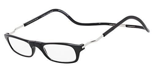 Clic Readers Reading Glasses - Clic Readers Expandable Black XXL / Black 2.00 Magnification