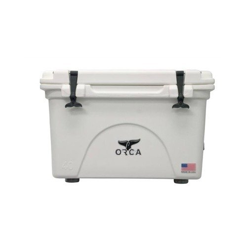 (ORCA BW040ORCORCA Cooler, White, 40-Quart)