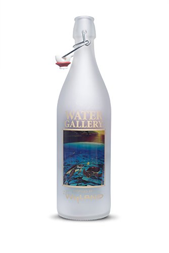 (Wyland Ancient Mariner Reusable Swingtop Glass Bottle)