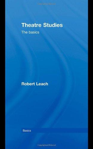 Download Theatre Studies: The Basics ebook