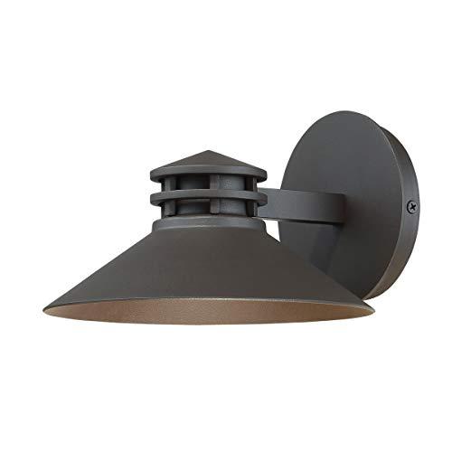 (WAC Lighting WS-W15708-BZ Sodor Single Light 5