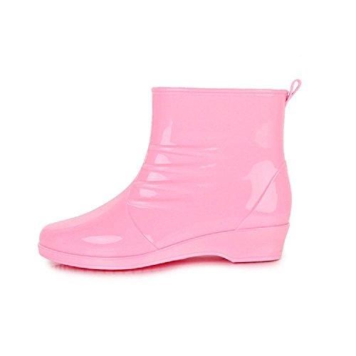 Stivali moda lady di pink pioggia outdoor da TqqABz