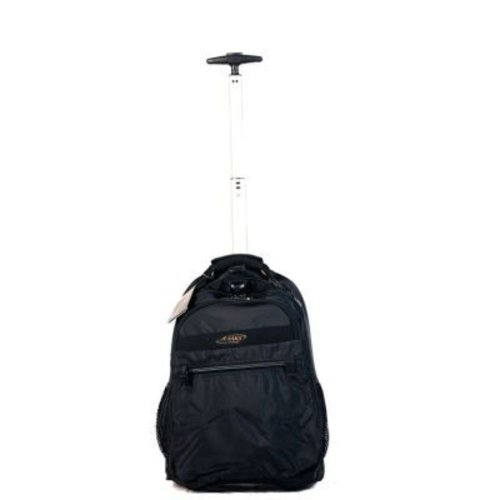 A.SAKS Deluxe Expandable Trolley Backpack by A.Saks