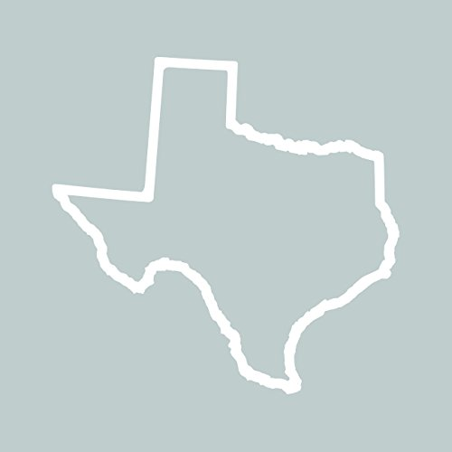 Outline Decal - Texas Outline Sticker Self Adhesive Vinyl Decal TX