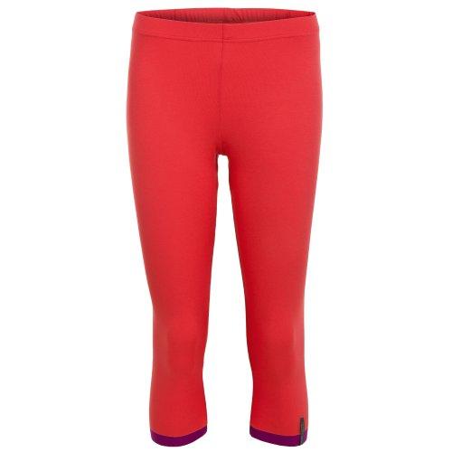 yoga pantalon de femmes abricot, legging 3/4, Lotus de chapeau et Berg Balance