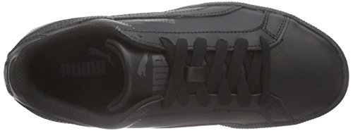 Puma Smash Fun L Jr, Unisex-Kinder Sneakers Schwarz (black-black 05)
