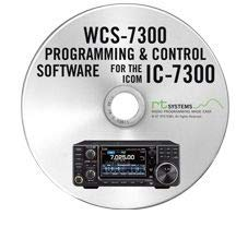 RT Systems WCS-7300 Programming Software Only for The Icom IC-7300