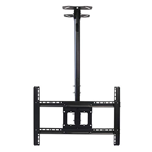 ABCCANOPY LCD Plasma Flat Panel TV Ceiling Mount Bracket for Most 32''-65