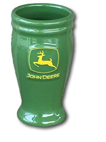 John Deere 4 Ounce Collector Ceramic Pilsner Mug Green John Deere Logo ()