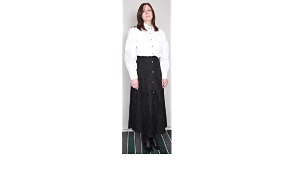 f5c3ceb7ae Amazon.com  Lady Wah-Maker Old West Clothing Black Skirt - Size 12  Toys    Games