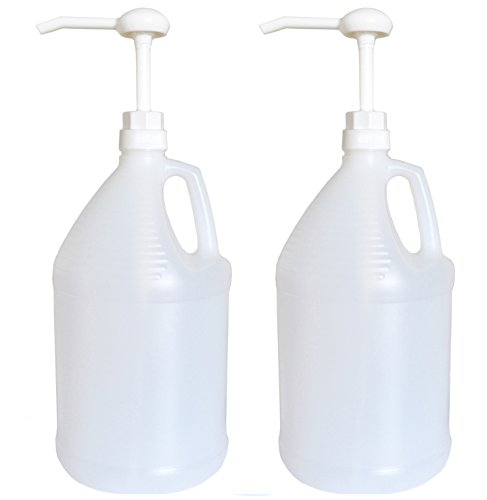 Gallon Dispensing Pump - Gallon Jug with Pump, Pack of 2