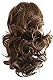 PRTTYSHOP Hair Piece Pony Tail Extension Draw String Voluminous Curly Heat-Resisting 14' brown # 9 PH204