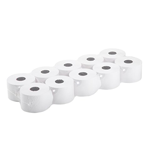AmerCare 44mm x 150' White Bond Register Rolls with 7/16'' ID Core, 1 Ply, Case of 100 by Amercare (Image #2)