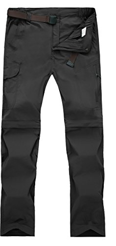 Women's Outdoor Anytime Quick Dry Convertible Lightweight Hiking Fishing Zip Off Cargo Pant #2088F