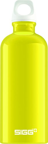 Sigg Fabulous Water Bottle 0.6L, Pack of 6 (Yellow)