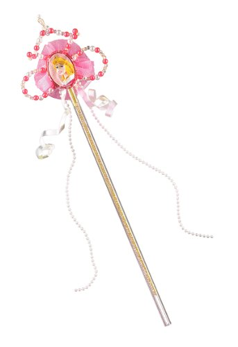 Disguise Disney Sleeping Beauty Aurora Wand Costume Accessory, One Size Child - Sleeping Beauty Aurora Wand