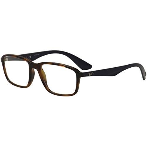 9176128450 Ray-Ban 0Rx7084, Monturas de Gafas para Hombre, Light Havana, 54 En ...