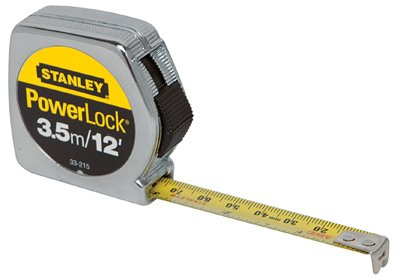 - Stanley Hand Tools 33-215 12' PowerLock Tape Measures