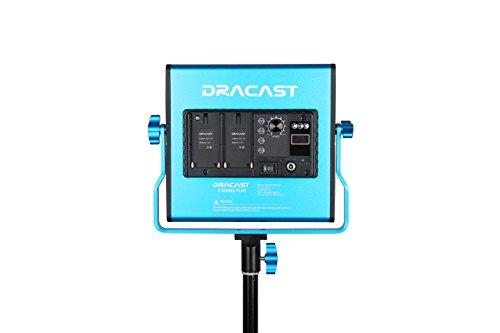 Dracast DRSPPLLK3x500DNH S Series Plus Daylight LED500 3-Light Kit 2 NPF Plates with Hard Case, Blue by Dracast (Image #2)