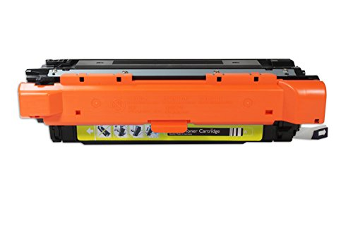 Ecoink Alternative kartuschen für HP Farbe LaserJet CM 3530 FS MFP [Gelb ] 1 x 7.000 Seiten  CE252A 504A