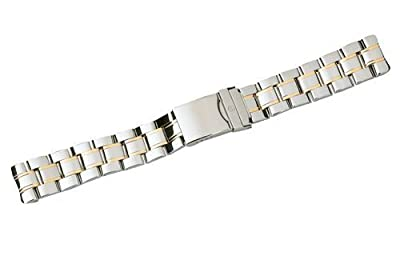 Swiss Army Officer 1884 Series Dual Tone 20mm Watch Bracelet by Swiss Army