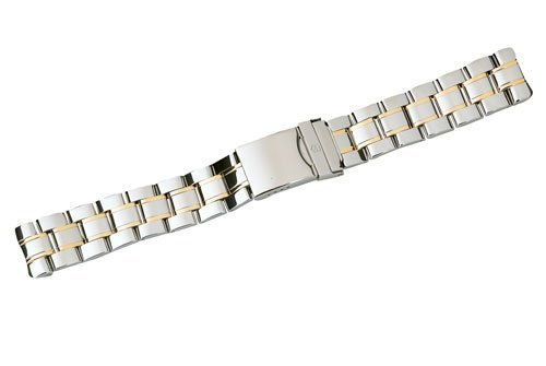 Swiss Army Officer 1884 Series Dual Tone 20mm Watch Bracelet