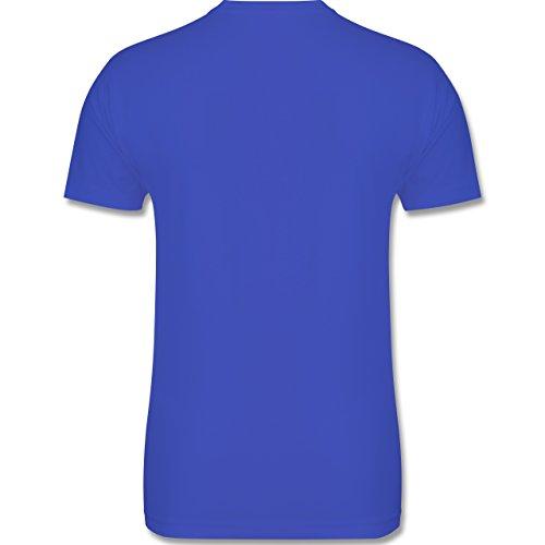 Urlaub - Ich brauche keine Therapie ich muss nur nach Malle - 3XL - Royalblau - L190 - Herren Premium T-Shirt