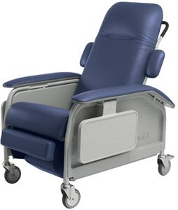 Lumex Clinical Care Recliner: Meets California Technical Bulletin 133 Flammability Standards Blue R