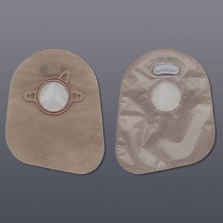 Ostomy Pouch New Image 70mm Two-Piece System 7'' Length Closed End #18384