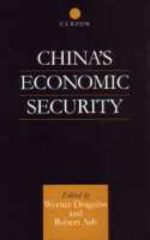 China's Economic Security (English-Language Series of the Institute of Asian Affairs, H) by Brand: Routledge