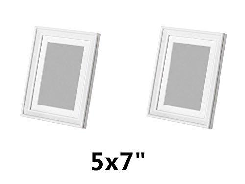 IKEA KNOPPANG Frame 5'' x 7'' White Wood Photo Holders (Set of 2) by IKEA (Image #2)