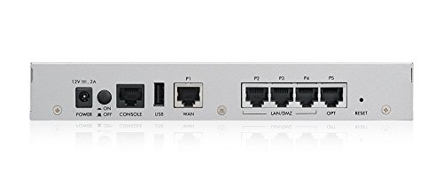 Zyxel Next Generation Unified Security Gateway with 3 LAN/DMZ, 1 WAN, 1 OPT Ports - Hardware Only [USG40-NB]