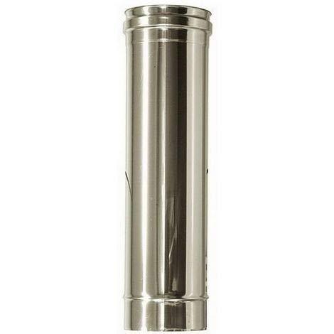 Tubo de acero inoxidable para chimeneas de 250 mm DN 80