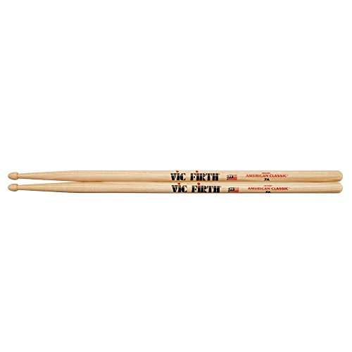 "(Vic Firth American Classic 7A Drumsticks | Medium Taper | 15.5"" Length)"