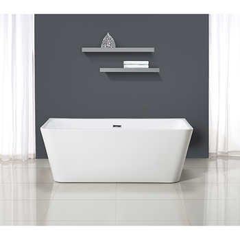 Amazing Ove Decors Vega 63u0026quot; Freestanding Bathtub