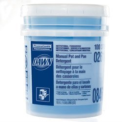 Dawn Professional 02611 Manual Pot & Pan Dish Detergent, Original Scent, Five Gallon Pail