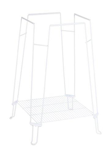 Prevue Hendryx Clean Life Bird Cage Stand, White, My Pet Supplies