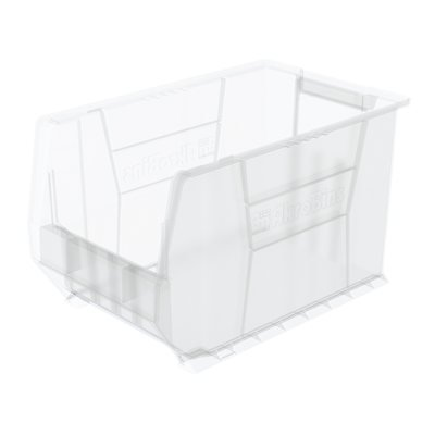 AkroBin Clear Super-Size Storage Containers 20'' x 12-3/8'' x 12'' (6 Case)