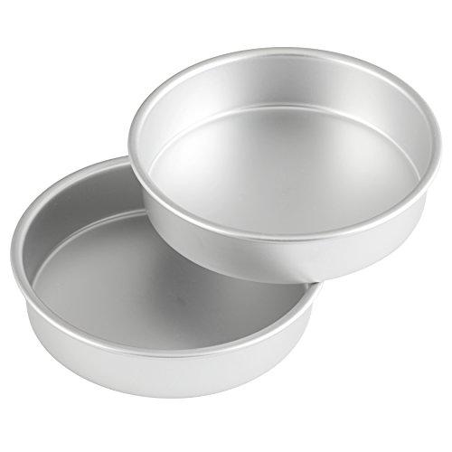 Wilton Aluminum 8-Inch Round Cake Pan Set, Multipack of 2