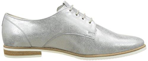 Gris Mujer 61 Zapatos Comfort de Cordones Gabor steel para Derby Shoes pw01wq8
